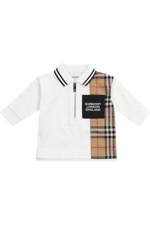 Burberry Baby Vintage Check cotton polo shirt