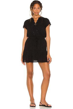 Paige Vestido jannah en color talla L en - Black. Talla L (también en XS, S, M, XL).