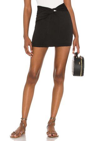 Free People Minifalda night dreamer twist en color negro talla 0 en - Black. Talla 0 (también en 2, 4, 6, 8, 10, 12).