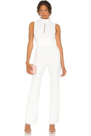 Amanda Uprichard Samira jumpsuit en color talla L en - . Talla L (también en S, M, XS).