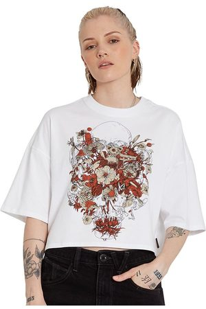 Volcom Fa Fortifem Short Sleeve T-shirt L White