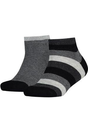 Tommy Hilfiger Basic Stripe Quarter 2 Units Socks EU 39-42 Black