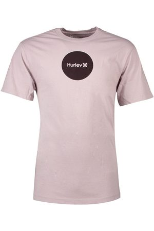 Hurley Boxy Oao Dotted Short Sleeve T-shirt L Platinum Violet