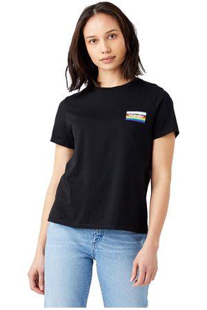 Wrangler Pride Short Sleeve T-shirt L Black