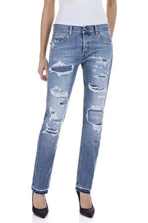 Replay Mujer Pantalones y Leggings - Joplyn 29 Medium Blue