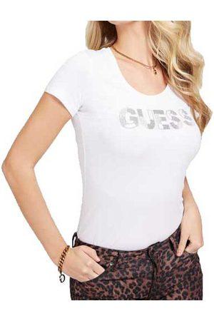 Guess Martina Short Sleeve T-shirt L Rich Pink