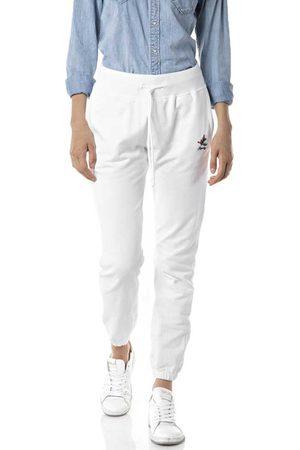 Replay Mujer Pantalones y Leggings - Pants M White