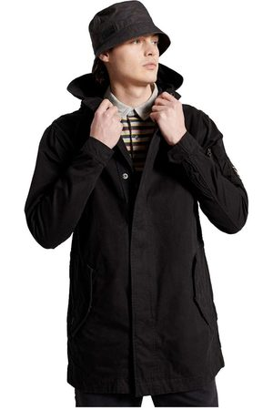 Superdry Service Fishtail XXL Washed Black