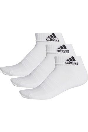 adidas Cushion Ankle 3 Pairs EU 43-45 White / White / White