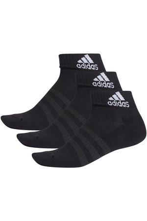 adidas Hombre Calcetines - Cushion Ankle 3 Pairs EU 43-45 Black / Black / Black