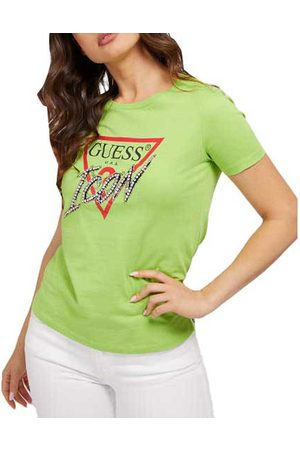 Guess Icon Short Sleeve T-shirt L French Rose