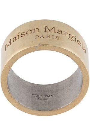 Maison Margiela Hombre Anillos - Anillo con logo grabado