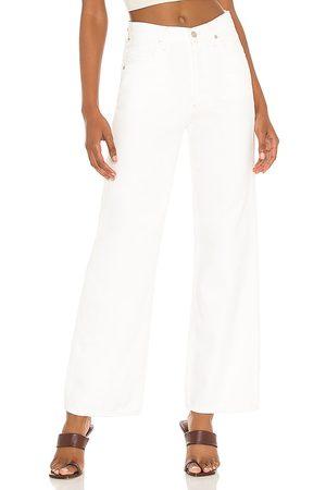 Citizens of Humanity Pantalón con trabillas flavie en color blanco talla 24 en - White. Talla 24 (también en 25, 26, 27, 28