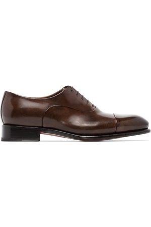 santoni Hombre Oxford - Zapatos oxford con agujetas