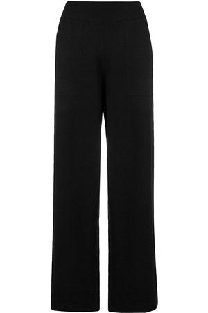 Barrie Mujer Acampanados - Pantalones con pretina de canalé