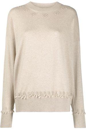 Barrie Mujer Suéteres - Suéter de cachemira bordado