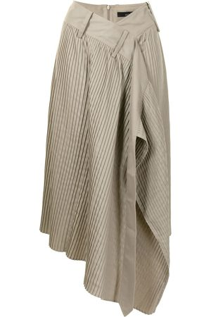 Rokh Mujer Plisadas - Falda cruzada plisada