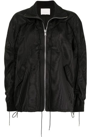Dion Lee Mujer Bomber - Chamarra rompevientos Woodgrain