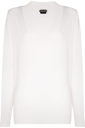 Tom Ford Mujer Suéteres - Suéter manga larga con cuello en V