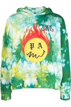 Palm Angels Hoodie con Burning Head