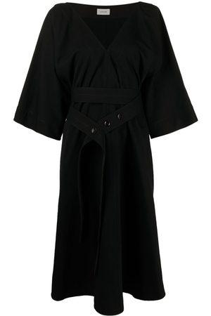 LEMAIRE Mujer Midi - Vestido midi con cinturón