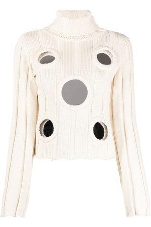 AREA Mujer Suéteres - Suéter con paneles espejados