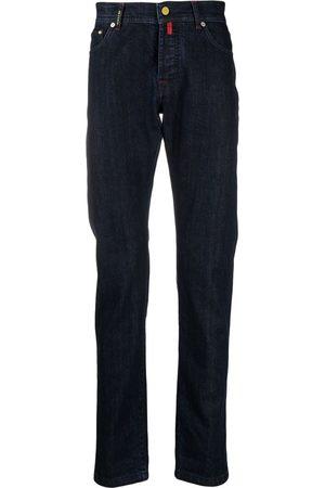 Kiton Hombre Skinny - Jeans slim con tiro medio