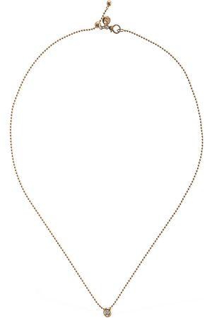 Dodo Collar Bollicine De Oro Rosa 9kt Y Diamante