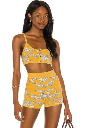 House of Harlow Mujer Tops - X sofia richie prue knit top en color amarillo talla L en - Yellow. Talla L (también en XL