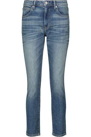 SLVRLAKE Mujer Jeans - California high-rise cropped jeans