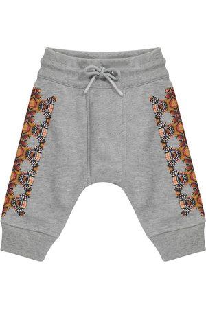 Burberry Baby Thomas Bear cotton sweatpants