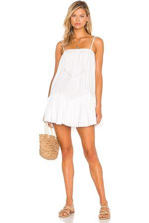 Tularosa Vestido jocelyn en color talla L en - White. Talla L (también en XXS, XS, S, M, XL).