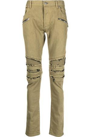 Balmain Hombre Skinny - Skinny jeans con bolsillos