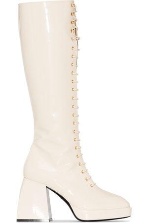 NODALETO Mujer Botas altas - Botas altas Bulla Ward con tacón de 85mm