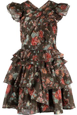ULLA JOHNSON Mujer Estampados - Vestido estampado floral