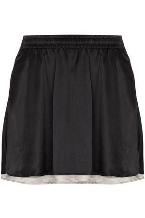 Y / PROJECT Mujer Estampadas - Minifalda reversible con rayas laterales