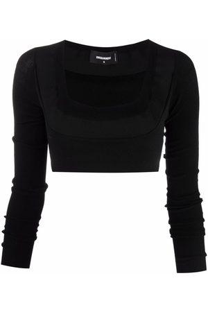 Dsquared2 Mujer Tops - Top tejido con cuello en U