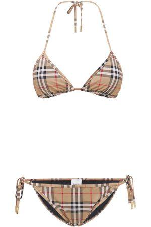Burberry Bikini De Lycra Stretch Estampada