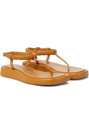 Gia Borghini GIA/RHW Rosie 3 suede thong sandals