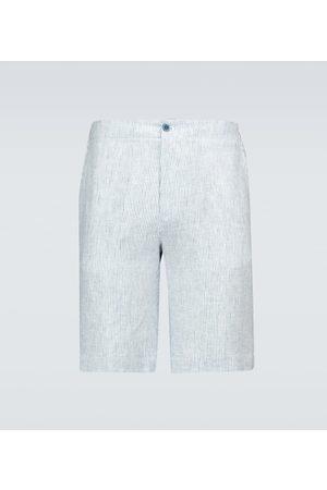 Loro Piana André Arizona Solaire linen Bermuda shorts