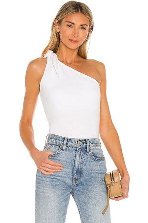 THE RANGE Mujer Playeras - Camiseta tirantes en color talla L en - White. Talla L (también en XS, S, M).