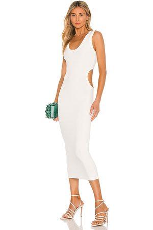 RONNY KOBO Mujer Vestidos - Vestido aeron en color talla L en - White. Talla L (también en XS, S, M).