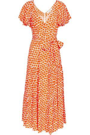 Diane von Furstenberg Leila floral crêpe midi dress
