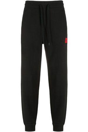 HUGO BOSS Pants con parche del logo