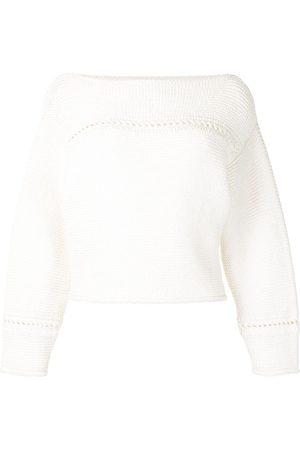 PROENZA SCHOULER WHITE LABEL Suéter con cuello barco