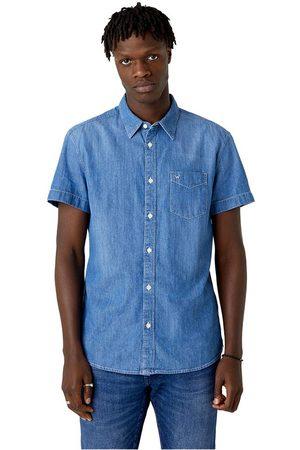 Wrangler Hombre Camisas - 1 Pocket M Light Summer
