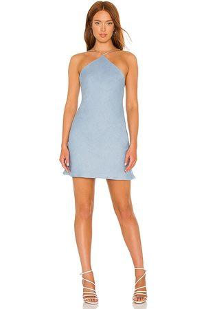 Amanda Uprichard Mujer Vestidos - Vestido claudia en color azul talla L en - Blue. Talla L (también en XS, S, M).