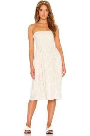 LPA Mujer Vestidos - Vestido carolina en color crema talla L en - Cream. Talla L (también en XXS, XS, S, M, XL).