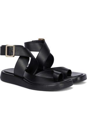 Gia Borghini GIA/RHW Rosie 4 leather sandals