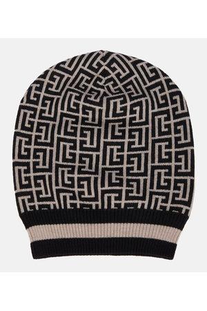 Balmain Merino wool beanie